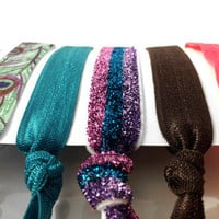 Amoorella | Feather Sparkle Hair Ties