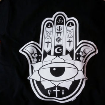 hamsa hand evil eye t-shirt great gift  t -shirts