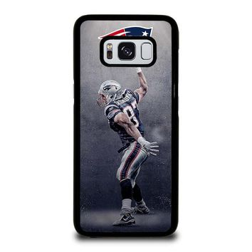 NEW ENGLAND PATRIOTS ROB GRONKOWSKI Samsung Galaxy S3 S4 S5 S6 S7 Edge S8 Plus, Note 3 4 5 8 Case Cover