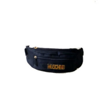 MOSCHINO / Vintage Belt bag / Leather belt pooch