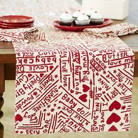 BE MINE TABLE RUNNER