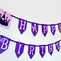 Princess Birthday Banner