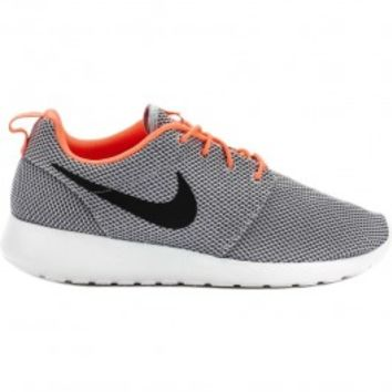 Roshe Run Men's Shoe (Grey/Orange/White/Black)