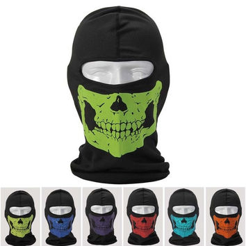 BLCOOL Ghost Skull Balaclava Hood Full Warm Neck Face Cycling Ski Windproof Protector Mask Call Of Duty masks = 1958035268
