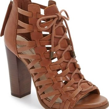 Jessica Simpson Riana Lace-Up Bootie (Women) | Nordstrom