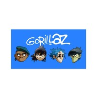 Gorillaz Heads Pin Badge Set - Accessories