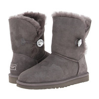 UGG Bailey Button Bling Grey - Zappos.com Free Shipping BOTH Ways