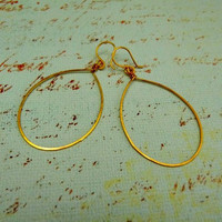 T-Shirt Earrings - Medium (Available in premium copper, premium silver-plated, or 24K gold-plated wire.)