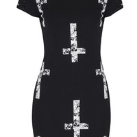Jawbreaker Skull Crosses Dress | Jawbreaker Clothing | Alternative Dresses