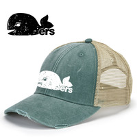 Hartford Whalers Pucky The Whale Inspired Retro Hat