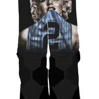"""Jeter Monroe"" Custom Sock"