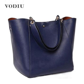 Litchi Grain Women Vintage Leather Handbag Messenger Over Shoulder Bag Female Tote Lady Crossbody Bags Girl High Quality Black