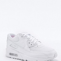 Nike Air Max 90 Premium White Trainers - Urban Outfitters