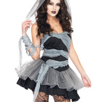Scary Corpse Halloween Party Costumes Women's Dress Zombie Costumes Cosplay vampire bride costumes = 1929520004