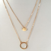 Gold Treasures Layered Necklace