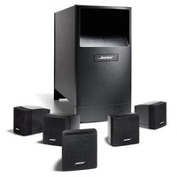 Bose Acoustimass 6 Home Entertainment Speaker System Surround Sound Black Bass