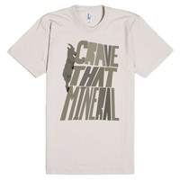 Crave That Mineral-Unisex Natural T-Shirt