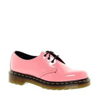 Dr Martens 1461 Acid Pink Patent Lamper Shoes at asos.com