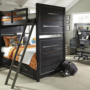 Barranger Twin over Twin Bunk Bed