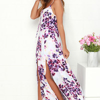 Somedays Lovin' Lonely Ivory Floral Print Maxi Dress