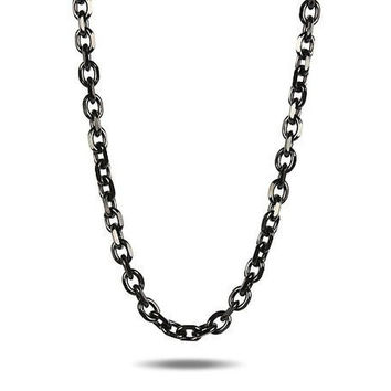 10mm Anchor Chain in Black Gold