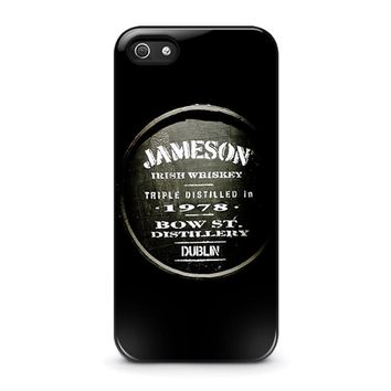 jameson whiskey iphone 5 5s se case cover  number 1