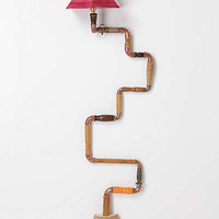Anthropologie - Ascension Lamp, Red