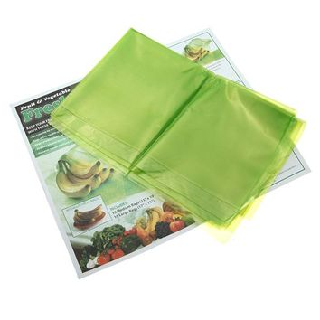 20Pcs Vegetable Fruit Food Storage Bag Reusable Life Extender Preservative Bags Container