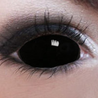 Black Sclera Contacts
