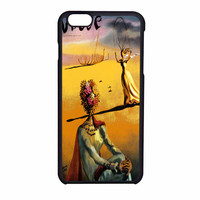 Salvador Dali Woman With Flower Head Vogue iPhone 6 Case