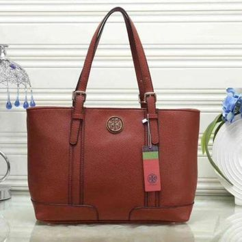 Tory Burch New Fashion Women Leather Shoulder Bag Satchel Tote Handbag