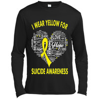 I Wear Yellow For Suicide Awareness - Suicide Awareness