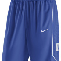 Nike Duke Blue Devils Blue On Court Replica Basketball Shorts