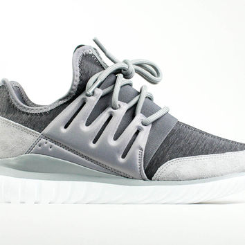 Adidas Originals Men's Tubular Radial Grey Granite