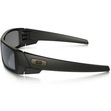 Oakley Gas Can Polarized Matte Black Sunglasses in Black