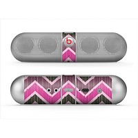 The Scratched Vintage Chevron Surface Skin for the Beats by Dre Pill Bluetooth Speaker