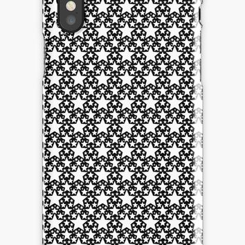 'Stars And Stars BW' iPhone Case by derpfudge