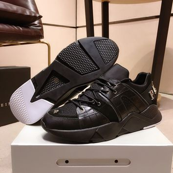 PhiliPP Plein PP Fashion Casual Running Sport Shoes Sneakers Slipper Sandals High Heels Shoes