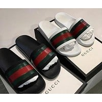 Gucci New Fashion Woman Men Casual Shoes Sandals Slipper