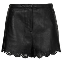 Black Lazercut Shorts - New In This Week - New In - Topshop