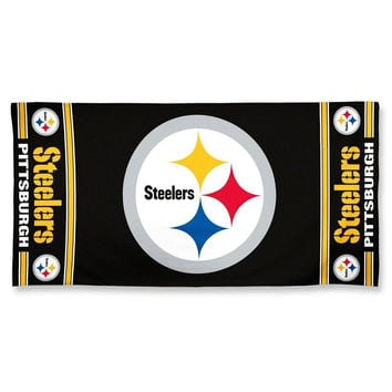 NFL Pittsburgh Steelers Beach Towel [Style - A1875853]