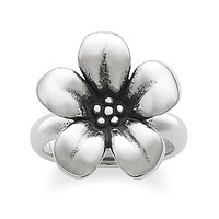 James Avery Flower Ring - Sterling Silver 5