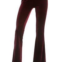 Velvet Flare Pants ( + Colors )