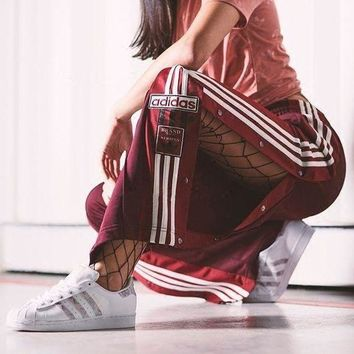 Adidas Originals Trending Women Personality Tear-Away Track Pant I