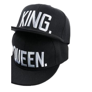 Embroidery Snap back Hat Acrylic Men Women Couple Baseball Cap Gifts Fashion Hip-hop Caps