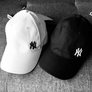 NY Fashion new baseball sport caps men and women hat Black