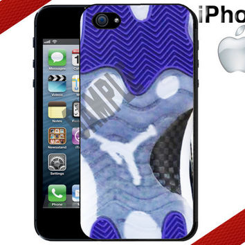 iPhone Case - Jordan Retro 11 Concords - iPhone 4 Case or iPhone 5 Case - Hard Plastic iPhone Case