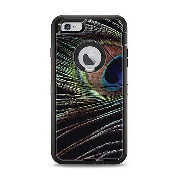 The Dark Peacock Spread Apple iPhone 6 Plus Otterbox Defender Case Skin Set