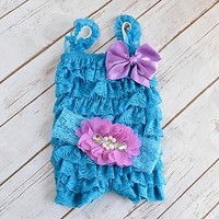 Cake Smash Outfit Girls. Perfect for 1st or 2nd Birthday Photo Shots and Party. Shop Your Final Touch for lace romper sets