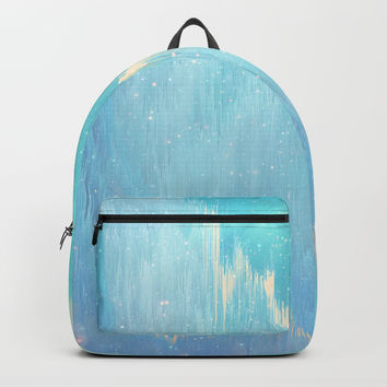 Blue Dreamscape Backpack by printapix